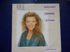 """Kylie Minogue Wouldn't change a thing 3 track 1989 UK 12"""""""