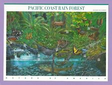 3378  US... Pacific Coast Rain Forest ...  Never Hinged Sheet  issued year 2000