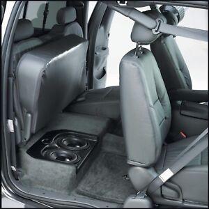 "Q-Logic Custom UNLOADED Subwoofer Enclosure 2000-06 for Toyota TUNDRA Dual 8"""