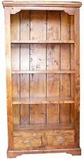 Bücherregal, Regal, Standregal Aktenregal, Schubladen,Aufbewahrung, Massivholz,