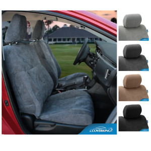 Seat Covers Suede For Ford F650 Coverking Custom Fit