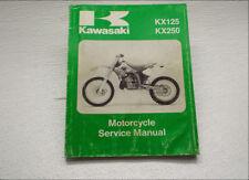 Factory Service Repair Manual KX250 Kawasaki KX125 OEM