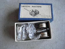 Lot of 2 Vintage Ho Scale Ho Train Co Swiitch Machines in 1 Box Look