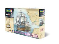 Battle of Trafalgar Model Ship Revell Gift Set 1:225