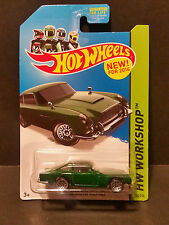 2014 Hot Wheels #200 HW Workshop - Aston Martin 1963 DB5