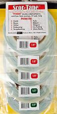 "VALUE TIME! 3 x 1/8"" & 2 x 1/2"" x 27yds Each Scor-Pal Tape   ~  FREE SHIPPING!!!"