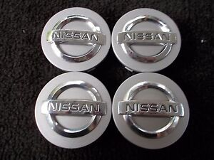 Set Nissan Altima Maxima Murano 350Z alloy wheel center cap 40342AU510