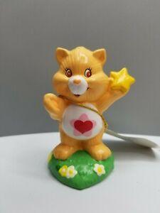 "Vintage 1980s - Proud Heart Cat ""Care Bear Cousins"" Ceramic Figurine 3 Inches"