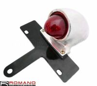 Motorcycle Sparto Rear Brake Tail Light License Plate Lamp For Harley Old School