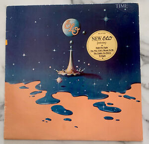 Electric Light Orchestra - TIME - Vinyl LP - 1981 - NM record/Sleeve VG - ELO