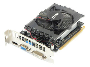 MSI N630-2GD3 NVIDIA GT630 2GB Nvidia PCI-e Graphics Card