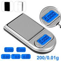 0.01g x 200g Gram Mini Digital Pocket Lighter Shape Scale Jewelry Diamond Weight