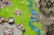 Ritter / Fantasy Spielmatte / Spielteppich für das Kinderzimmer ca. 150 x 100 cm