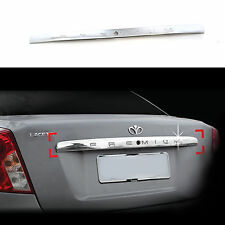 Chrome Trunk Lid/Handle Garnish Molding Trim Cover for 02-08 Chevrolet Lacetti