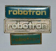 Robotron equipo East Germany RDA Electronics Computing pin badges prendedor