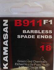 Kamasan B911 F1 Barbless Spade End 18