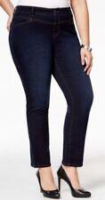 NEW-Style&co. Women Jewel Blue Split Hem Jeans Size 18w, FREE 3 DAY SHIPPING