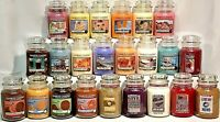 RARE YANKEE CANDLE LARGE JAR 22oz VARIETY RETIRED COLLECTOR VHTF Scents *U Pick*