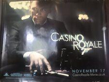 James Bond Collectible Cinema Box Poster for Casino Royal