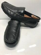 Merona Men Black Driving  Shoes  Moccasin Slip On Loafers Size 11