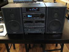 SONY Compact Hi-density Component System FH-B7CD Cassette CD FM radio