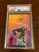 2019-20 COURT KINGS JA MORANT FRESH PAINT ROOKIE AUTO RUBY /99  PSA 9  MINT !!!