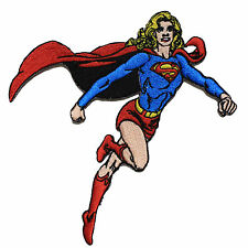Official DC Comics Justice League Supergirl Flying iron on Superhero Patch