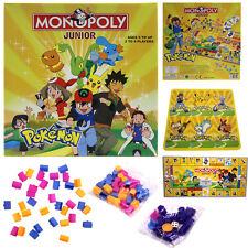 Pocket Monster Fun Pokemon Monopoly Party Family Board Game Toy 2~4 Players