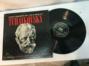 Tchaikovsky Piano Concert No 2 in G OPUS 44 Record Very Good Free Shipping