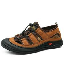 chic Mens summer sandals Lightweight Beach shoes comfy Non-slip outdoor Big size
