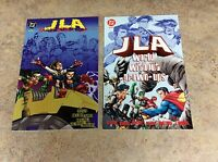 JLA WORLD WITHOUT GROWN-UPS 1 & 2 OF 2  LOT OF 2 TPB NM 1998 DC
