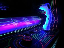 *New* Tron Blue Arcade Game Joystick Kit Handle-Trigger-Trigger Mech Midway