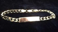 Sterling Silver Identity Bracelet (20g) -NEW RRP £50