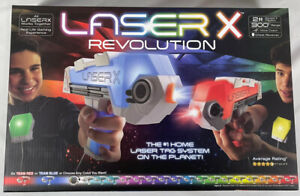 Laser X Revolution Double Blaster 2 Player Set Brand New Free Shipping