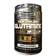 MuscleTech PLATINUM 100% GLUTAMINE 60 Servings