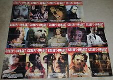 Creepy Images vintage posters Collection from 2 to 16 no 12 inc very rare #2 #3