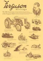 TED Re-Chromed in UK v.good Ferguson Tractor TEA /& MAJOR Chrome steering  NUT