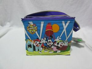 Dusty Dirty NOS Vintage 90s Animaniacs Insulated Pvc Lunch Bag NWT Vintage BIN 2