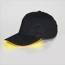 Adjustable LED Lighted Up Hat Glow Club Party Baseball Hip-Hop Golf Dance Cap