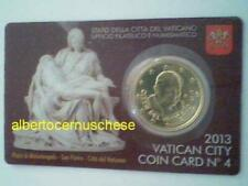 Pièces en euro du Vatican, année 2013