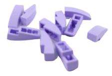 Lego 10 Pièce Tuiles en Béton 3x1 Courbé Lavande Bloc Incliné Arrondie 50950