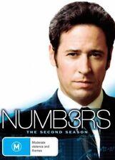 Numbers: Season 2 (DVD, 6-Disc Set) Region 4 - Very Good Condition