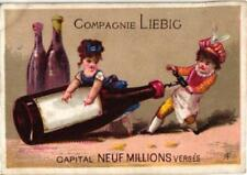 6 cards c1872 LIEBIG extract S 23 complete set,  kitchen scenes comical litho VG