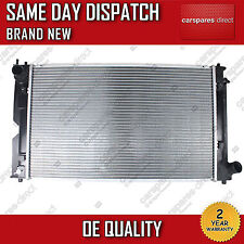 TOYOTA AVENSIS / COROLLA / VERSO 2.0 D-4D DIESEL MANUAL RADIATOR 2000 TO 2009