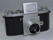 Praktica 35mm SLR Camera w/ Carl Zeiss Jena Tessar f3.5 5cm T Lens