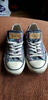 ladies converse size 5 trainers