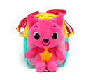 Pink Fong Three-Dimensional Doll Cross Bag for Kids