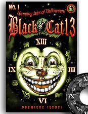HALLOWEEN HORROR COMICS - BLACK CAT 13  #1 NM/ MT BONUS SOUNDTRACK MUSIC CD