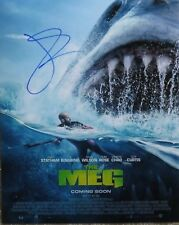 """Jason Statham In The Meg Autographed Photo Poster 11"""" x 14"""""""