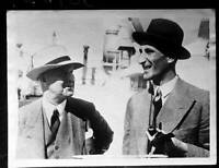 England Captain Douglas Jardine And Pelham Plum Warner 1932 OLD CRICKET PHOTO